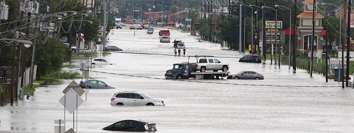 Le coût des catastrophes  naturelles a bondi en 2017