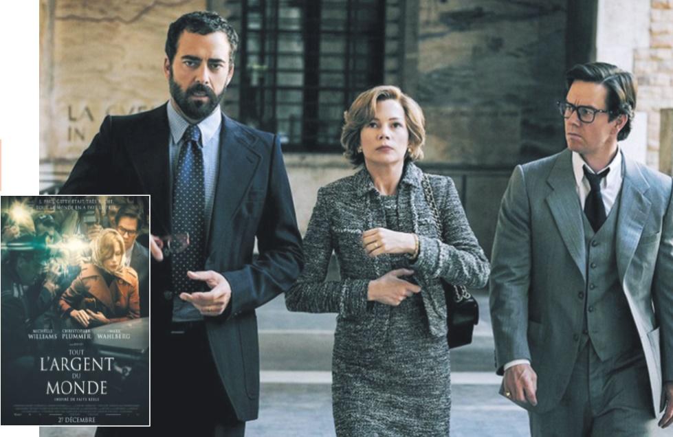 """""""Tout l'argent du monde"""" Thriller efficace de Ridley Scott sur le rapt de Paul Getty"""
