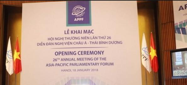 Participation du Maroc au Forum parlementaire Asie-Pacifique