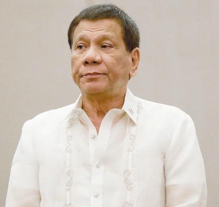 Insolite : Mâcher du chewing-gum soulage le dos du président philippin