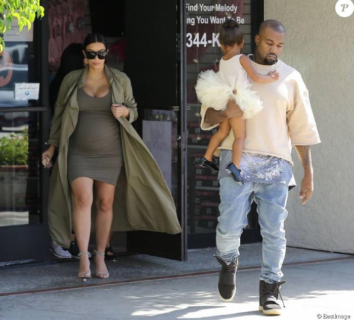 Kim Kardashian de nouveau maman