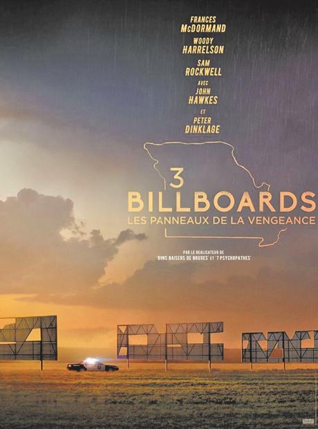 """""""3 Billboards: Les panneaux de la vengeance"""" sacré aux SAG Awards"""