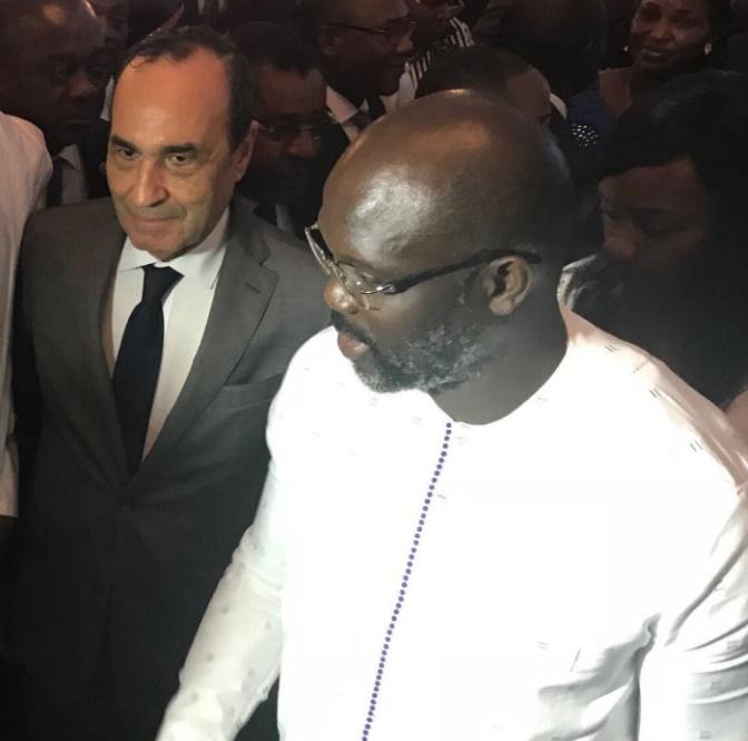 Habib El Malki représente S.M le Roi à la cérémonie d'investiture du président libérien George Weah