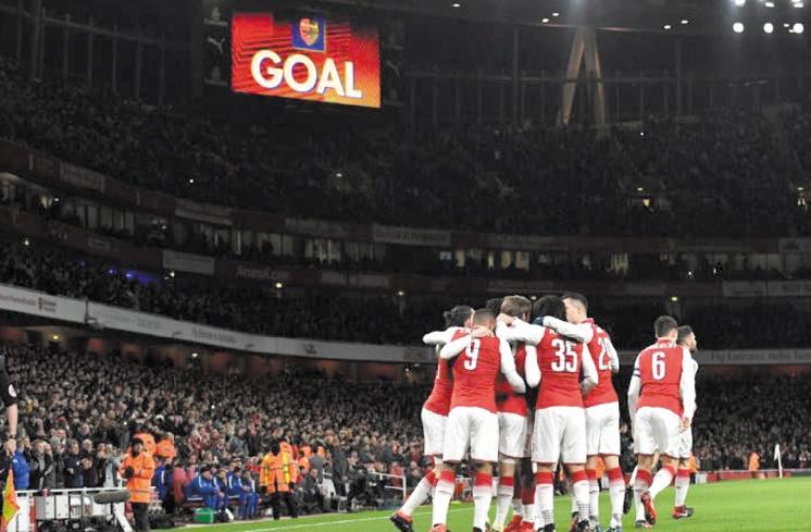 Arsenal et City en finale de la Coupe de la Ligue anglaise