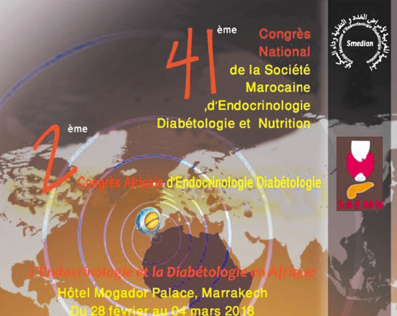 Marrakech accueille le 2ème Congrès de la Société africaine d'endocrinologie métabolisme et nutrition
