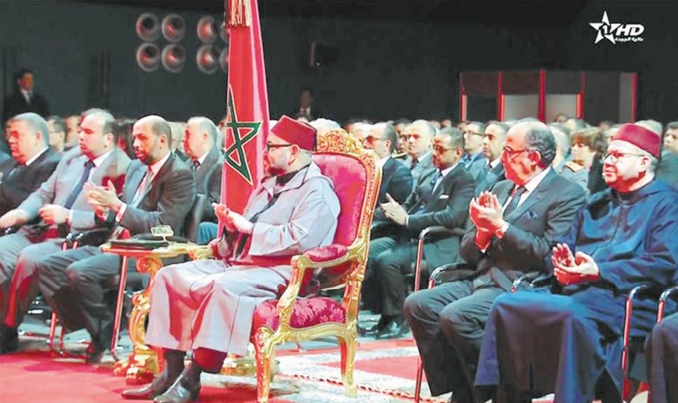S.M le Roi préside à Agadir la cérémonie de présentation de la déclinaison régionale du Plan d'accélération industrielle 2014-2020 dans la région de Souss-Massa