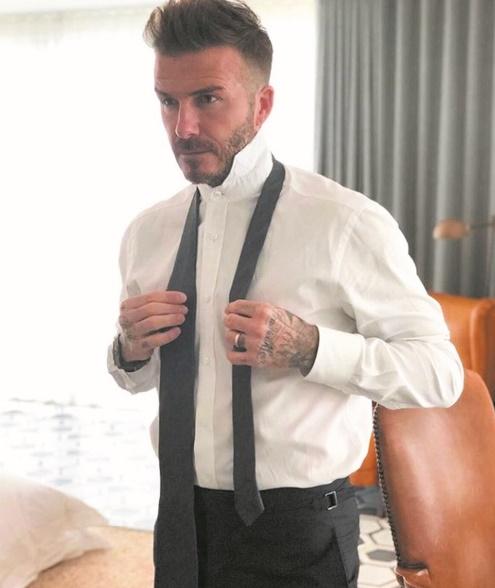 David Beckham, une icône du foot-business