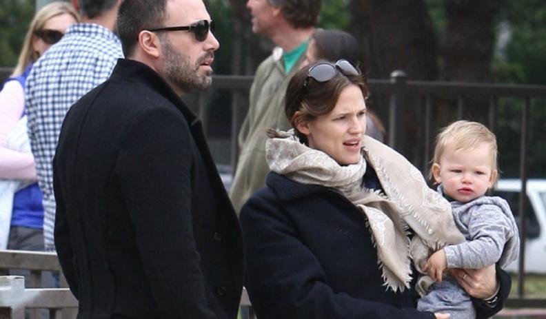 Ben Affleck/Jennifer Garner Les enfants d'abord