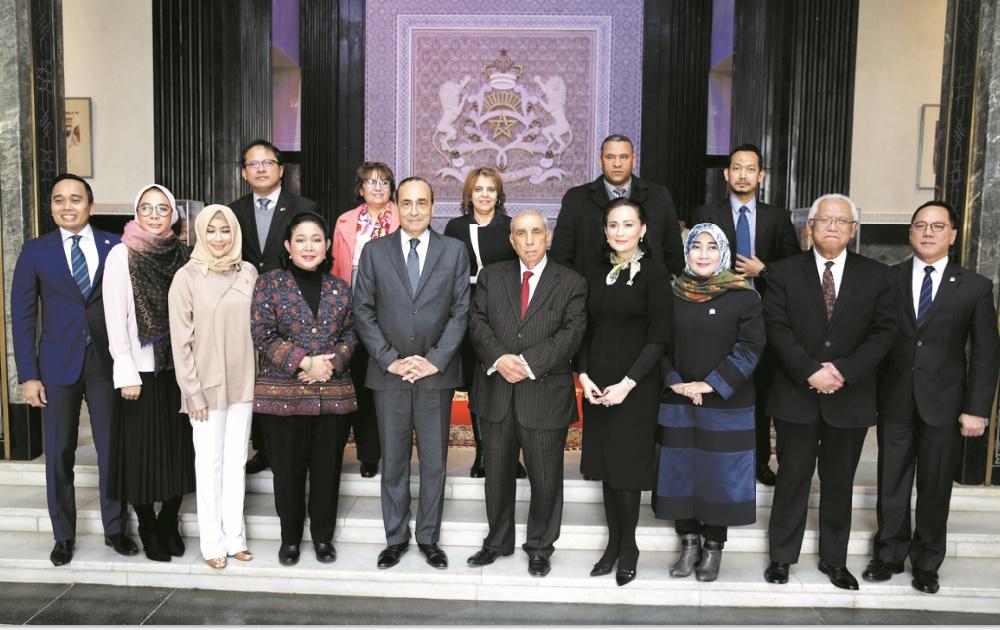 Le Président de la Chambre des représentants reçoit une délégation parlementaire indonésienne
