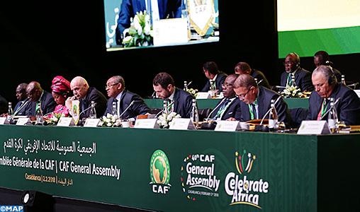 Election de 4 nouveaux membres du Comité exécutif de la CAF