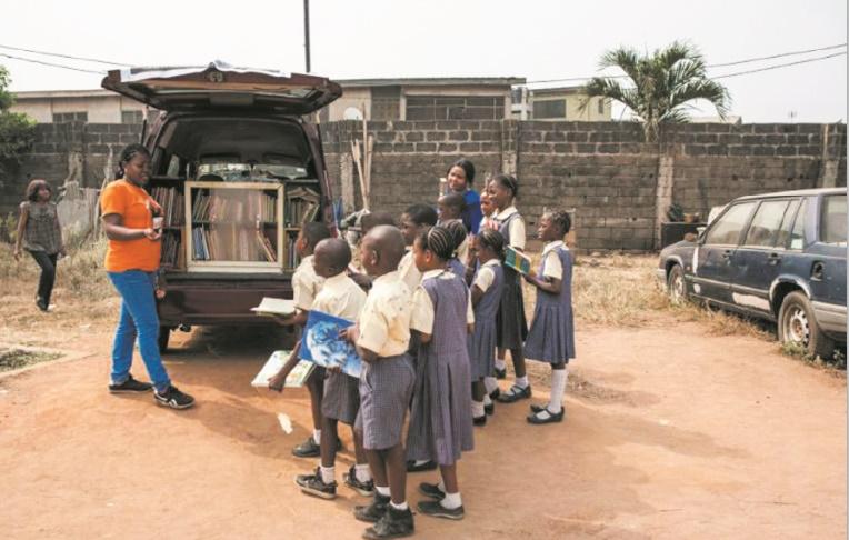 """I Read"", la première bibliothèque mobile du Nigeria"