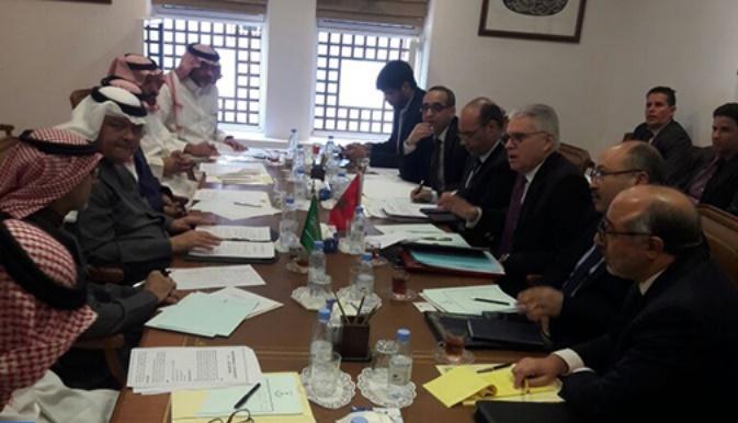 Réunion préparatoire à Riyad de la 13ème session de la Commission mixte de coopération maroco-saoudienne