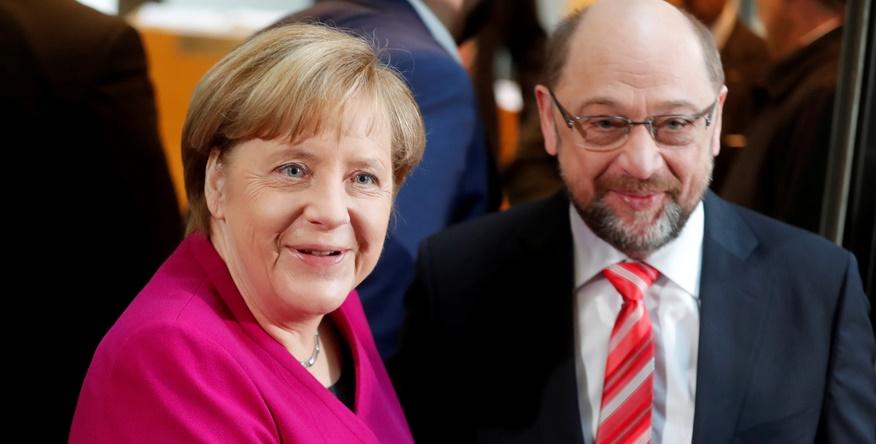 Merkel critiquée dans son propre camp après l'accord de coalition