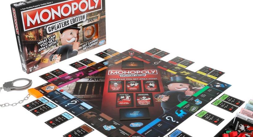 Un Monopoly spécial tricheurs