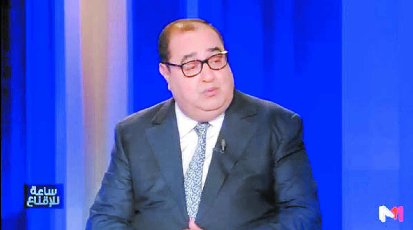 """Driss Lachguar à l'émission  """"Saa li Iknaa"""" de Médi1 TV 'Trêve de surenchère, de  désinformation et de mauvaise foi'"""