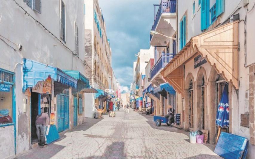 Essaouira se farcit d'interminables pavages