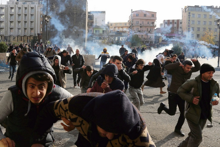 Couvre-feu dans le sud-est turc à majorité kurde
