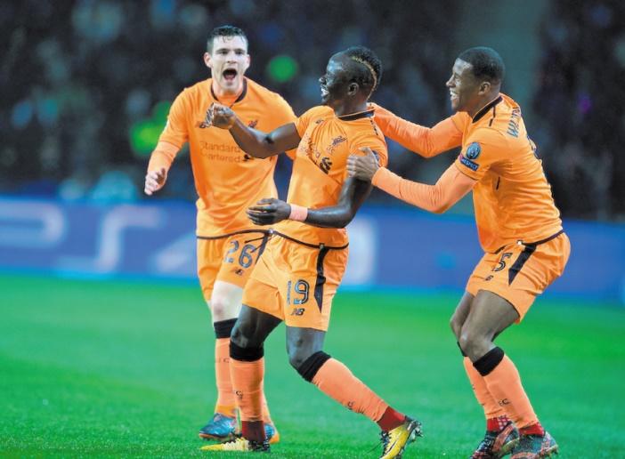 Liverpool presque en quarts grâce au triplé de Mané à Porto