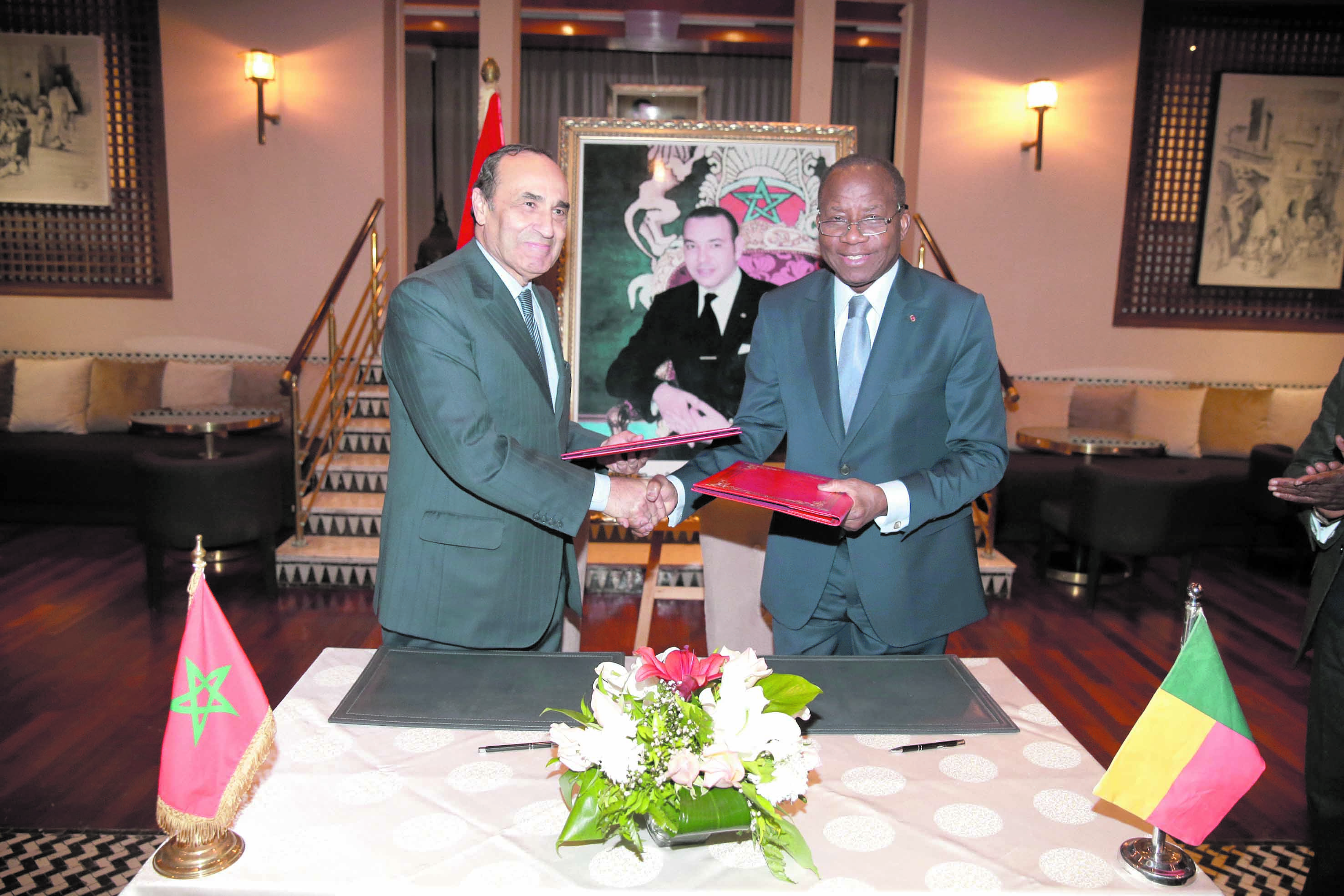Signature d'une convention de coopération entre la Chambre des représentants et l'Assemblée nationale béninoise