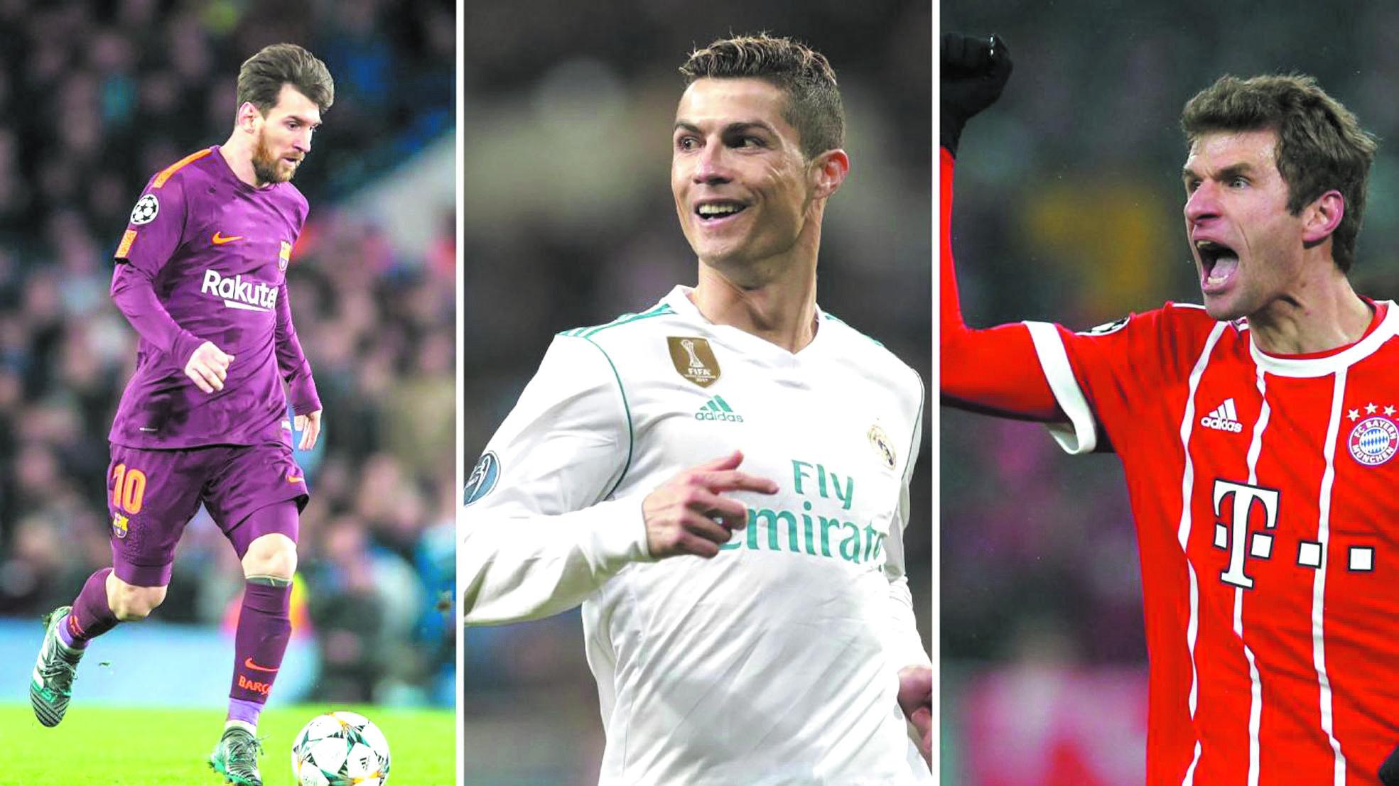 """Messi, Ronaldo, Müller...  Les """"Experts"""", énième saison"""