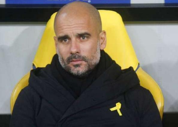 Le ruban jaune de Guardiola