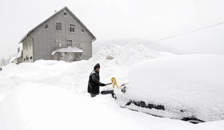 Plus de 40 morts en Europe à cause du froid sibérien