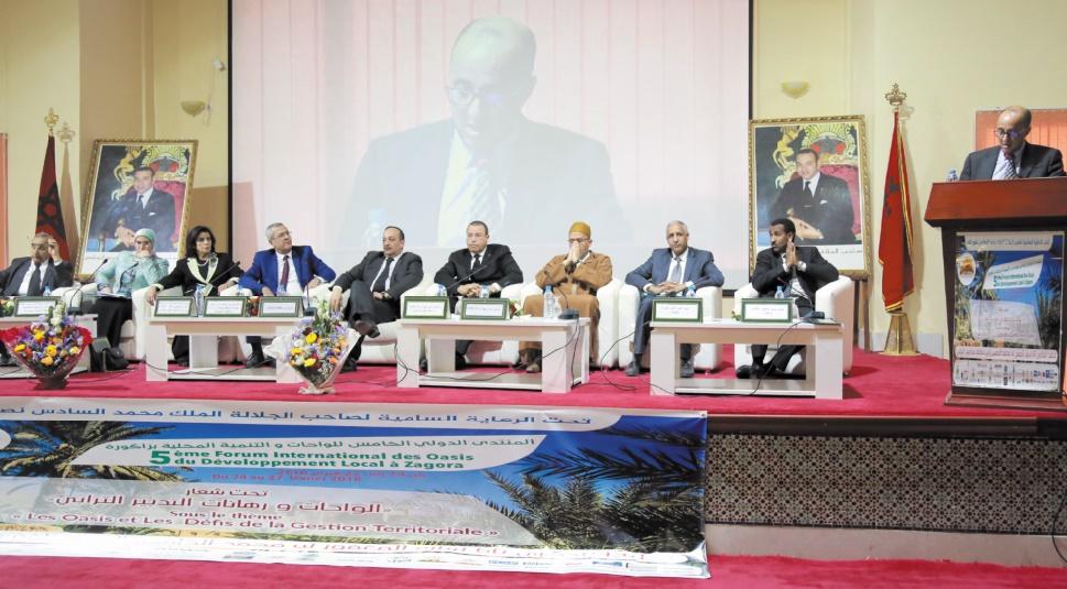 Le Forum international des oasis a tenu ses promesses