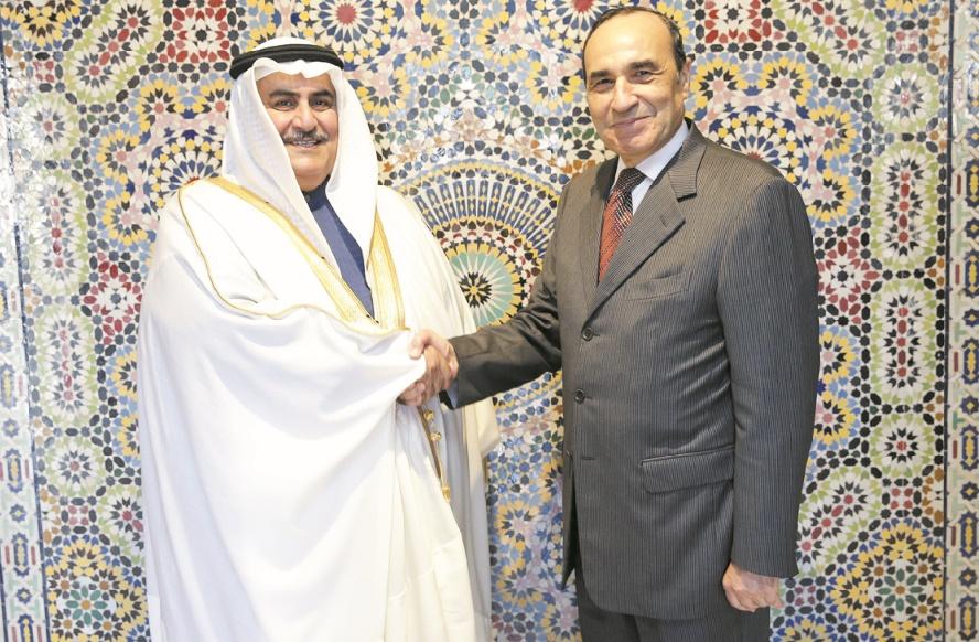 Habib El Malki s'entretient avec le chef de la diplomatie bahreïnie