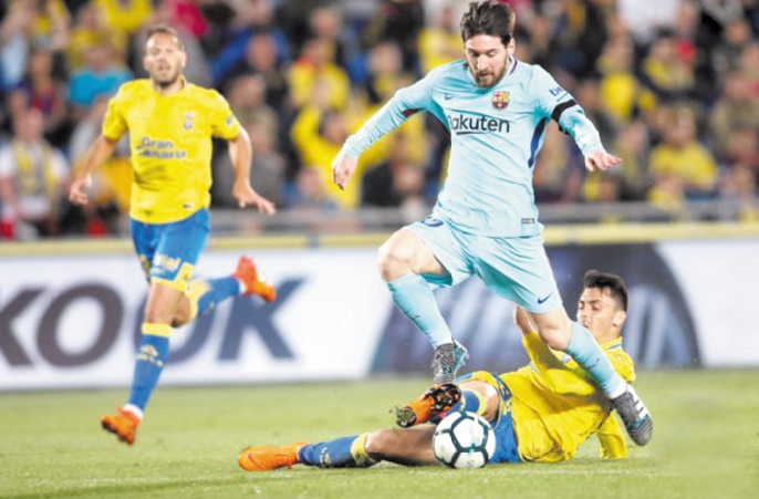 Le Barça accroché à Las Palmas : La Liga est relancée