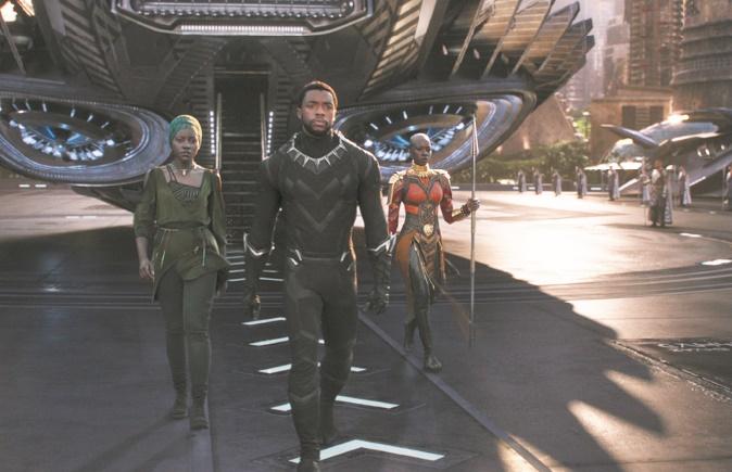 """""""Black Panther"""" dépasse les 500 millions de dollars en Amérique du Nord"""
