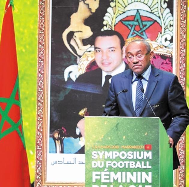 Ahmad Ahmad : Nous casserons tous les tabous pour permettre de promouvoir le football féminin en Afrique