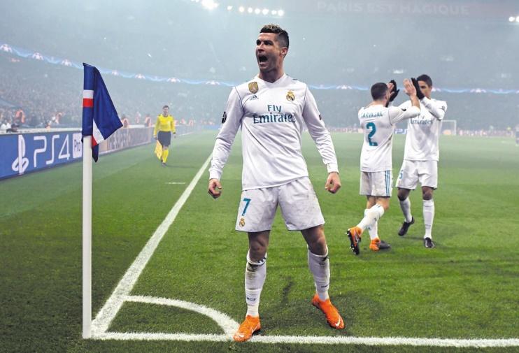 La superstar C'est Ronaldo !