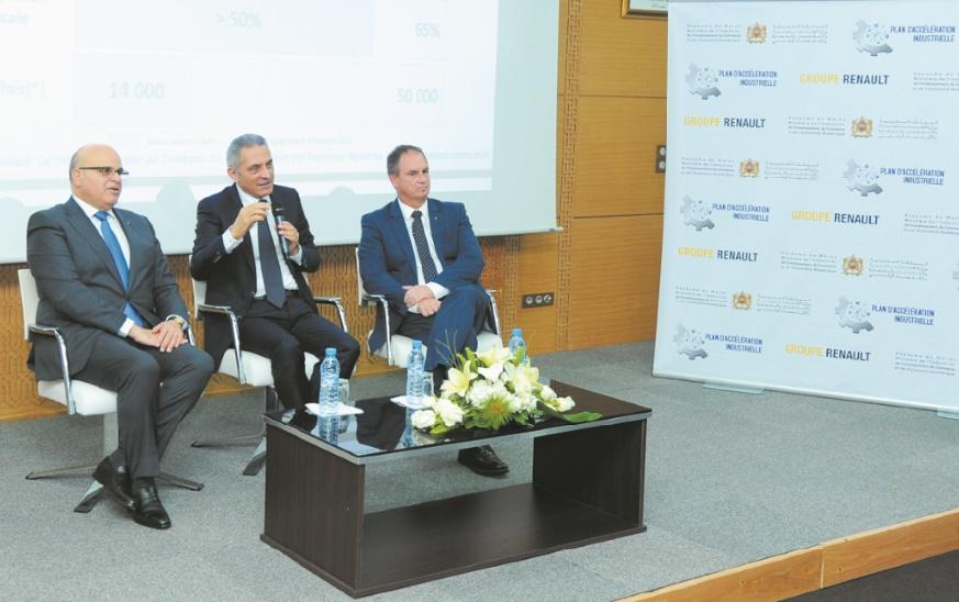 """L'écosystème Renault Maroc réalise une forte montée en gamme des composants """"Made in Morocco"""""""