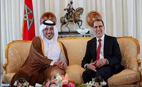 Réunion à Rabat de la Haute commission mixte maroco-qatarie