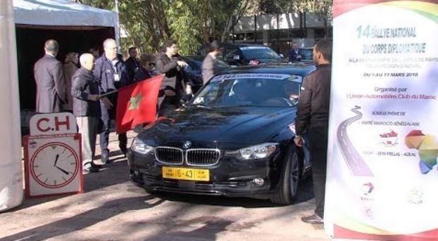 Victoire hongroise au Rallye du corps diplomatique
