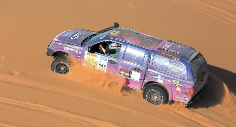 Participation de plus de 300 concurrentes au 28ème  Rallye Aïcha des gazelles