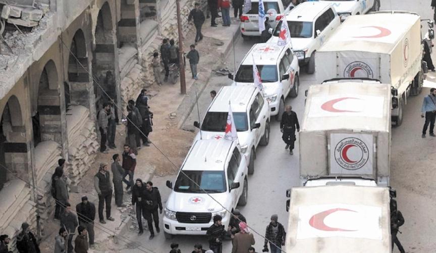 Un nouveau convoi humanitaire entre dans la Ghouta orientale