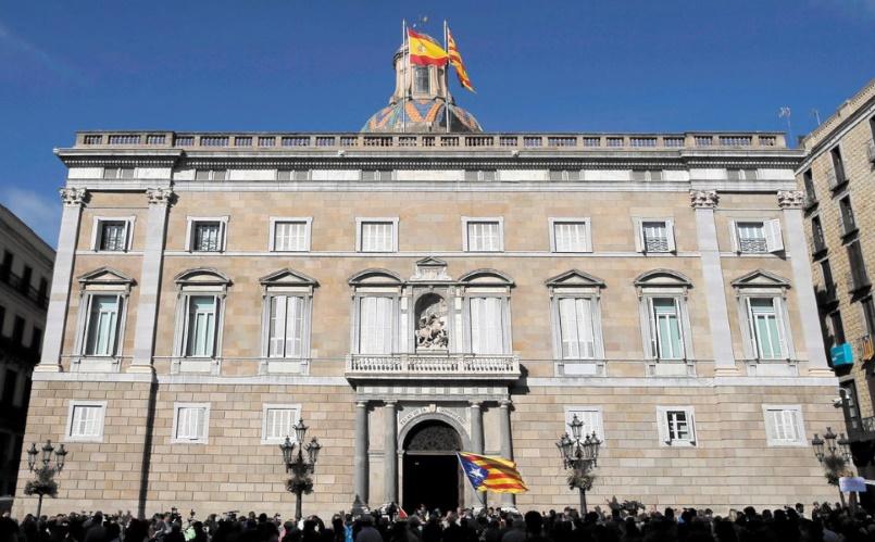 Perquisition au siège de l'Exécutif catalan