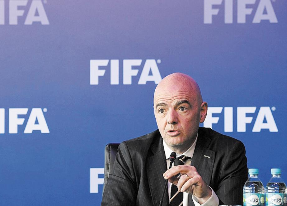 """Infantino: Le Mondial-2018 ne sera pas une """"guerre"""""""