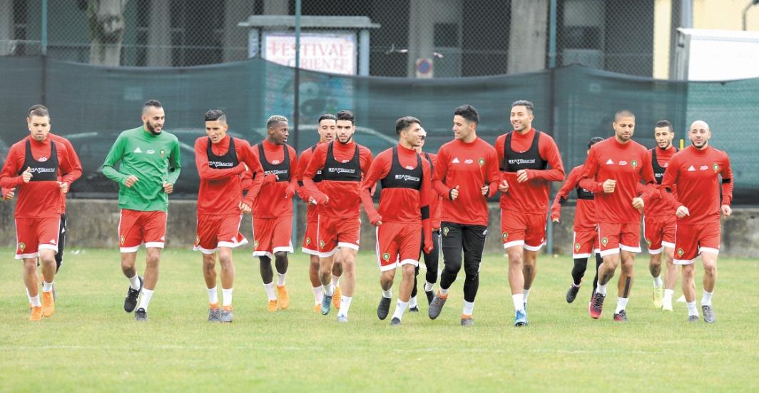 Le Onze national à pied d'œuvre à Turin