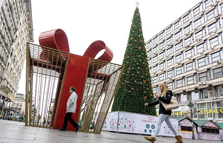 Insolite : Décorations de Noël en mars