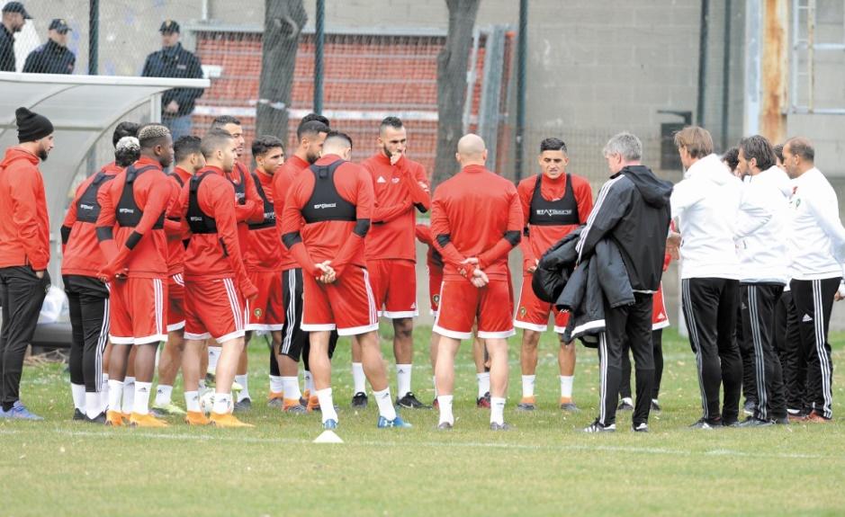 Des séances d'entraînement à huis clos pour le Onze national à Turin