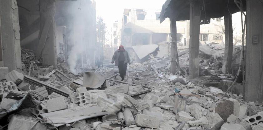 19 civils tués dans des raids aériens sur la Ghouta