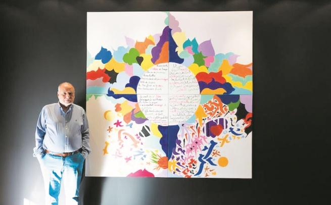 Tahar Benjelloun expose ses œuvres à Dubaï
