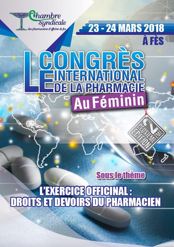 Deuxième Congrès international de la pharmacie au féminin à Fès
