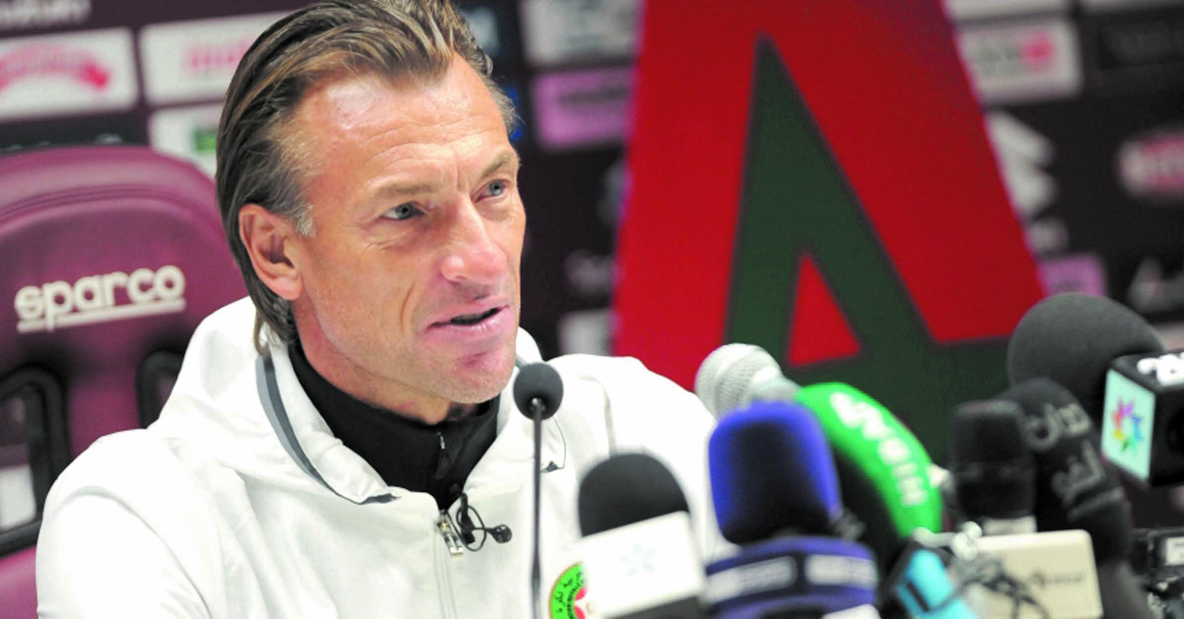 Hervé Renard: Les joueurs alignés contre la Serbie formeront l'ossature des 23 qui participeront au Mondial