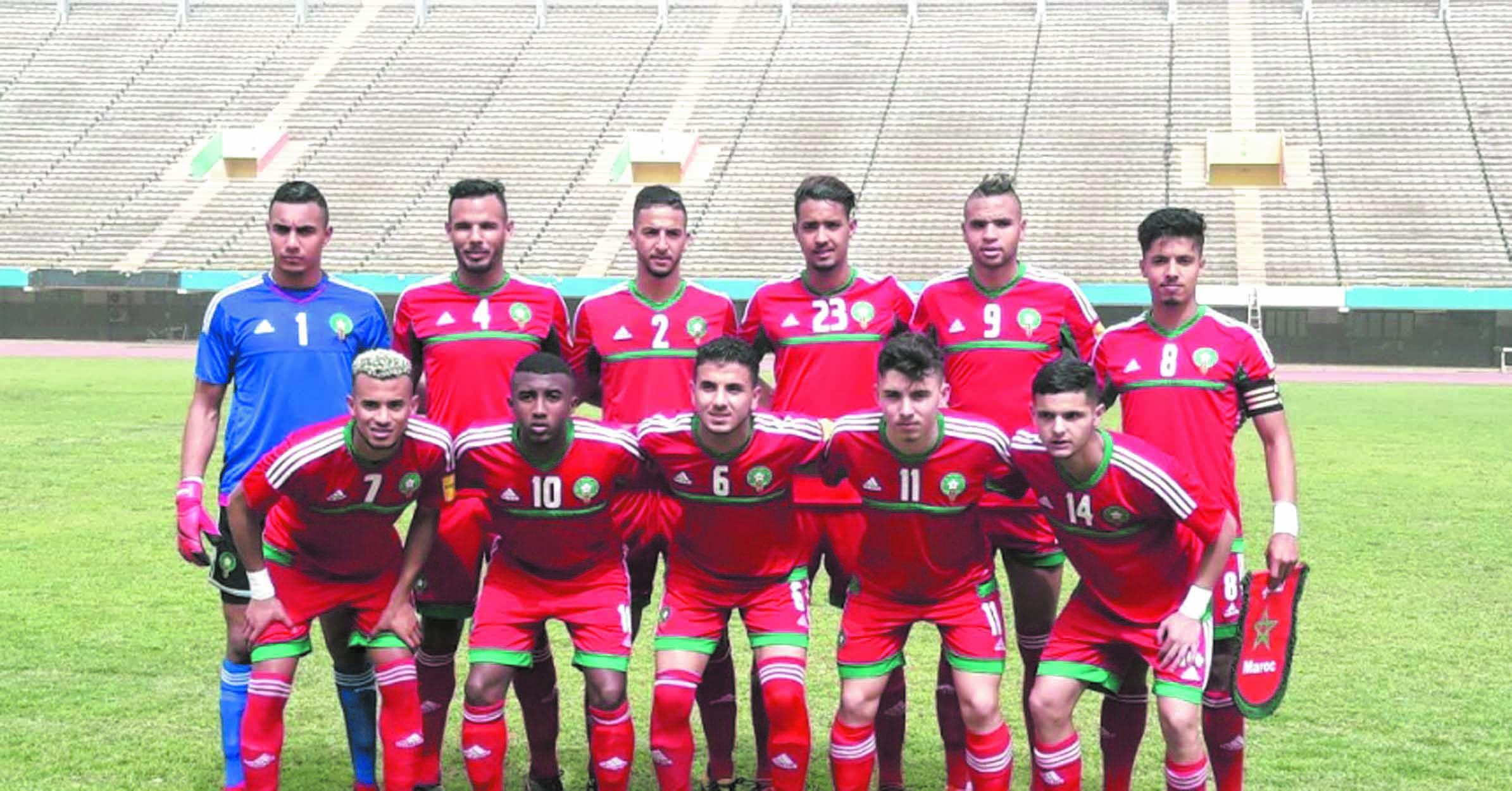 Les U23 défaits par le Sénégal