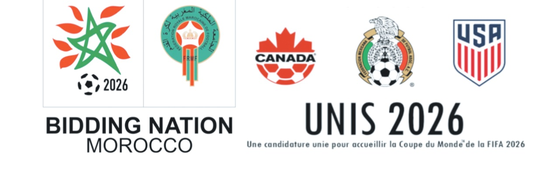La Fifa publie les candidatures Maroc et United 2026