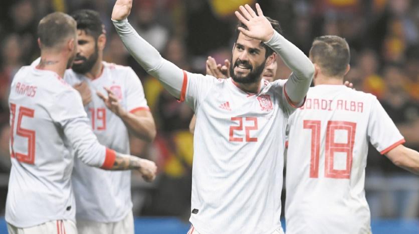 Matches amicaux : L'Espagne brille Brésil et France en bon ordre