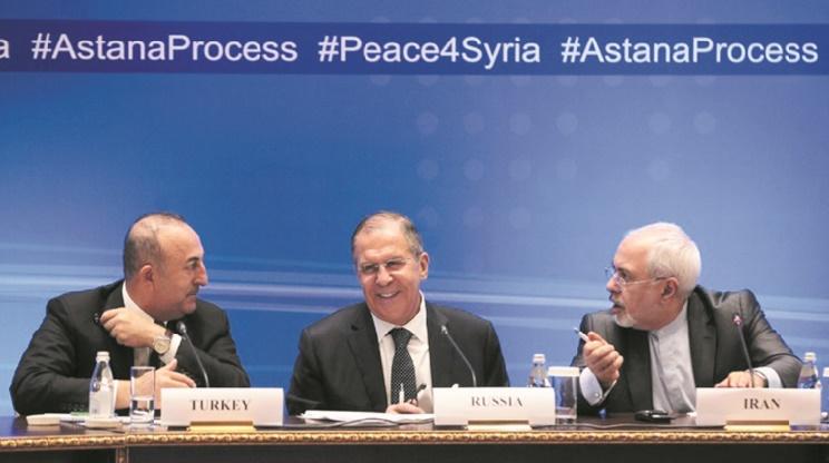 Moscou, Téhéran et Ankara, les maîtres du jeu en Syrie